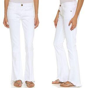 CURRENT/ELLIOT The Flip Flop Frayed Hem Jeans